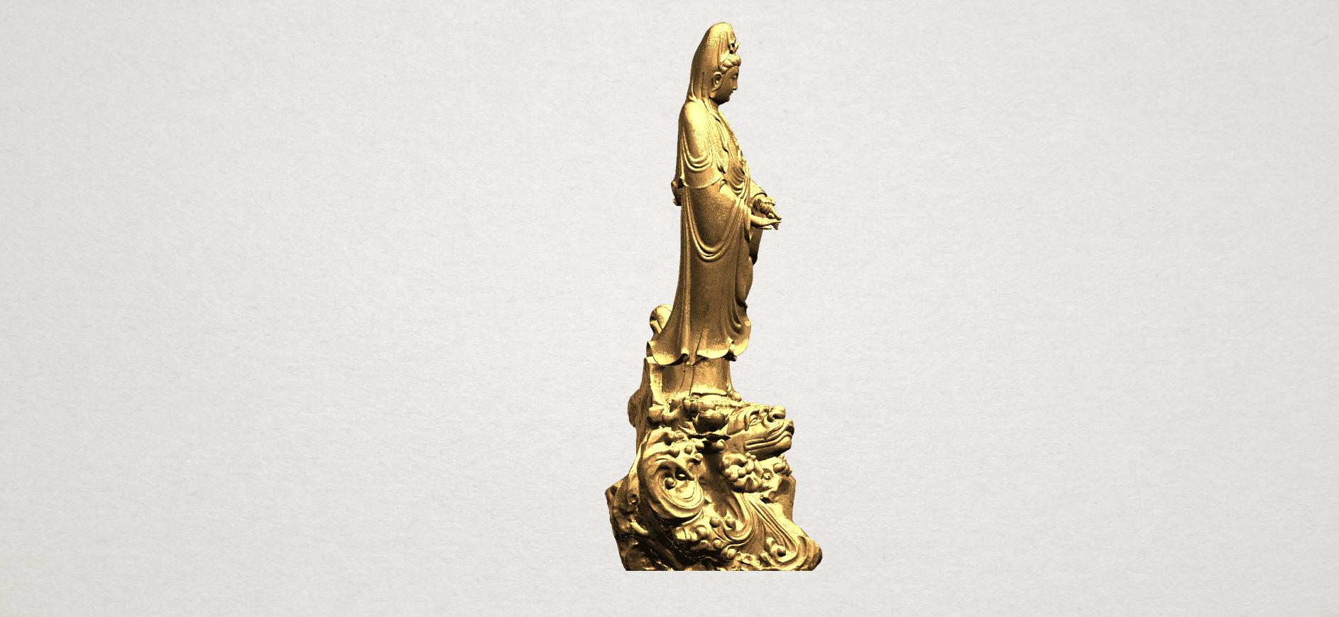 Avalokitesvara Buddha - Standing (ii) A07.png Download free STL file Avalokitesvara Bodhisattva - Standing 02 • Design to 3D print, GeorgesNikkei