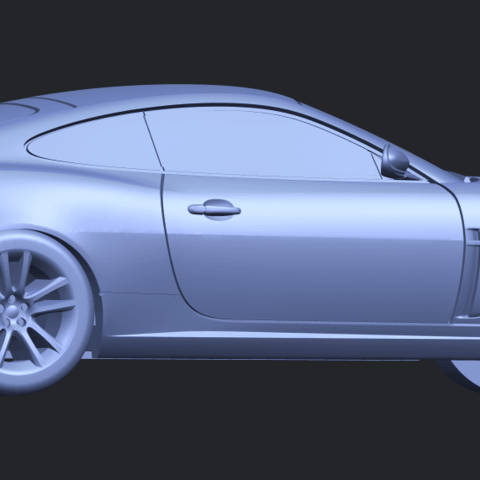 TDB003_1-50 ALLA06.png Download free STL file Jaguar X150 Coupe Cabriolet 2005 • 3D printing template, GeorgesNikkei