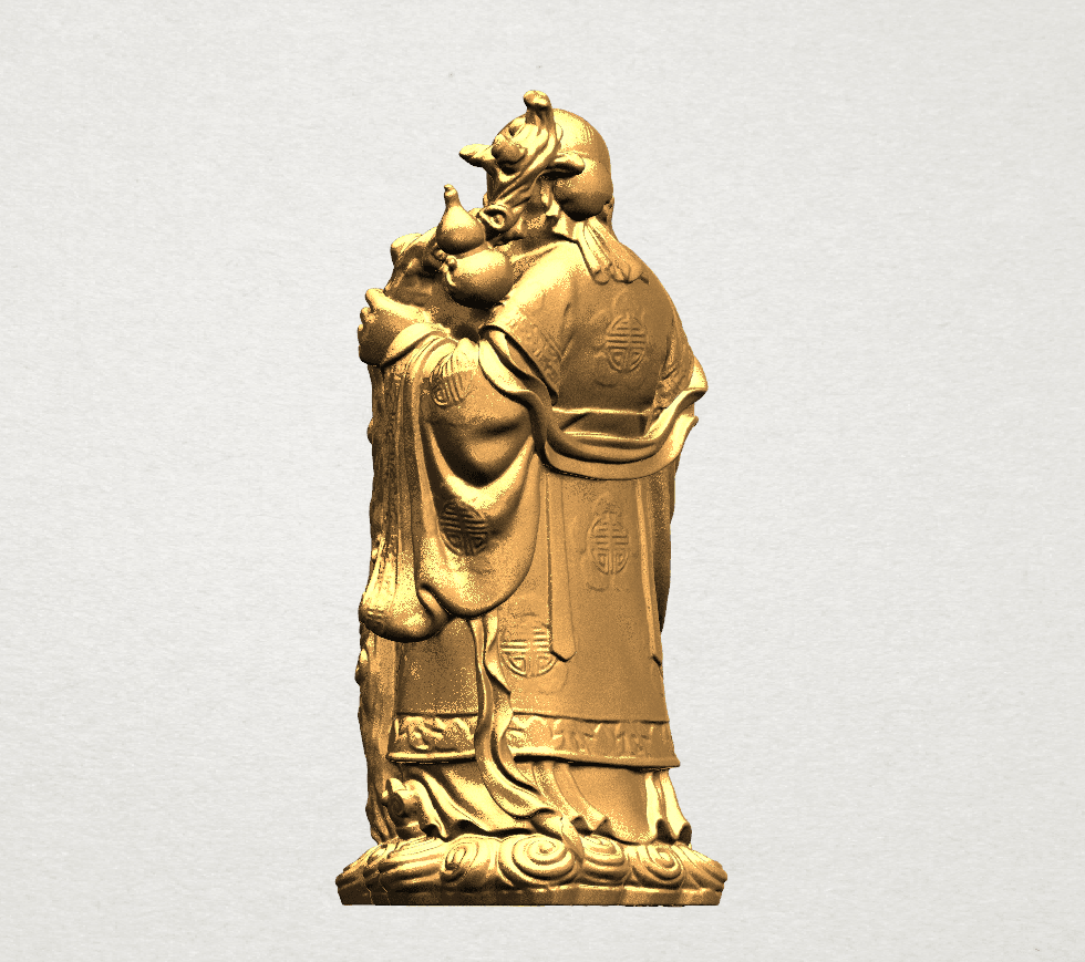 Sao (Fook Look Sao) 80mm - B03.png Download free STL file Sao (Fook Look Sao) • 3D printable model, GeorgesNikkei