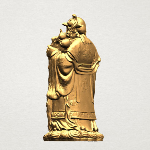 Sao (Fook Look Sao) 80mm - B03.png Download free STL file Sao (Fook Look Sao) • 3D printable model, GeorgesNikkei