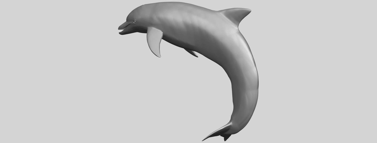 27_TDA0613_Dolphin_03A02.png Download free STL file Dolphin 03 • Design to 3D print, GeorgesNikkei