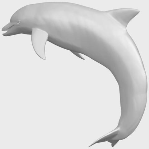 27_TDA0613_Dolphin_03A02.png Télécharger fichier STL gratuit Dauphin 03 • Objet pour impression 3D, GeorgesNikkei