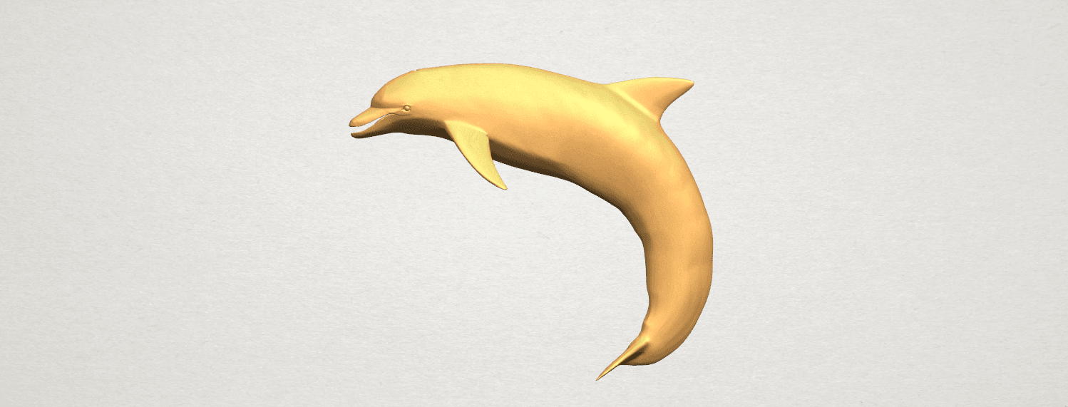TDA0613 Dolphin 03 A01.png Download free STL file Dolphin 03 • Design to 3D print, GeorgesNikkei