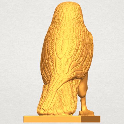 A04.png Télécharger fichier STL gratuit Aigle 04 • Design imprimable en 3D, GeorgesNikkei