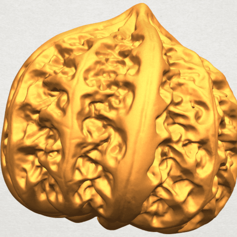 A02.png Download free STL file Walnut • 3D print object, GeorgesNikkei