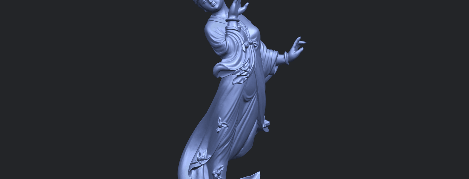 01_TDA0448_Fairy_03A10.png Download free STL file Fairy 03 • 3D printable object, GeorgesNikkei