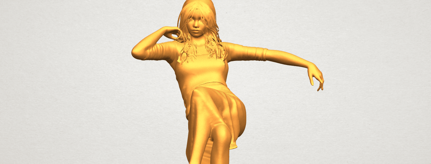 A11.png Download free STL file Naked Girl I01 • 3D print object, GeorgesNikkei