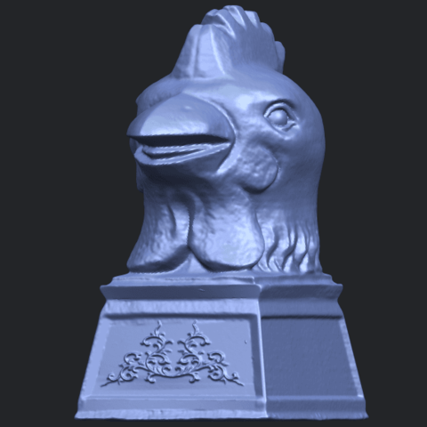 18_TDA0517_Chinese_Horoscope_of_Rooster_02B02.png Download free STL file Chinese Horoscope of Rooster 02 • 3D printable object, GeorgesNikkei