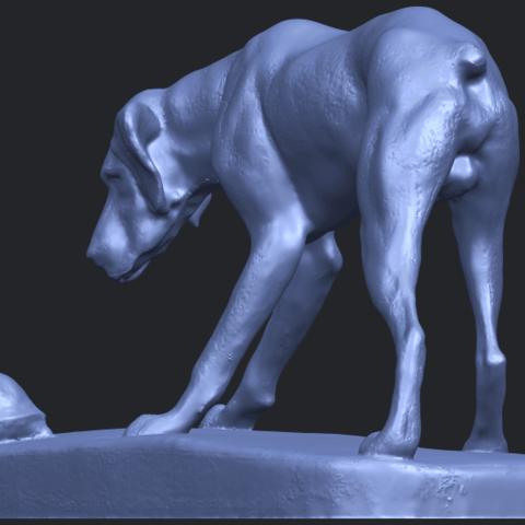 11_Dog_i_62mmB08.png Télécharger fichier STL gratuit Chien 01 • Plan pour impression 3D, GeorgesNikkei