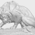 16_Lion_(iii)_with_snake_60mm-A01.png Télécharger fichier STL gratuit Lion 03 - avec serpent • Modèle imprimable en 3D, GeorgesNikkei