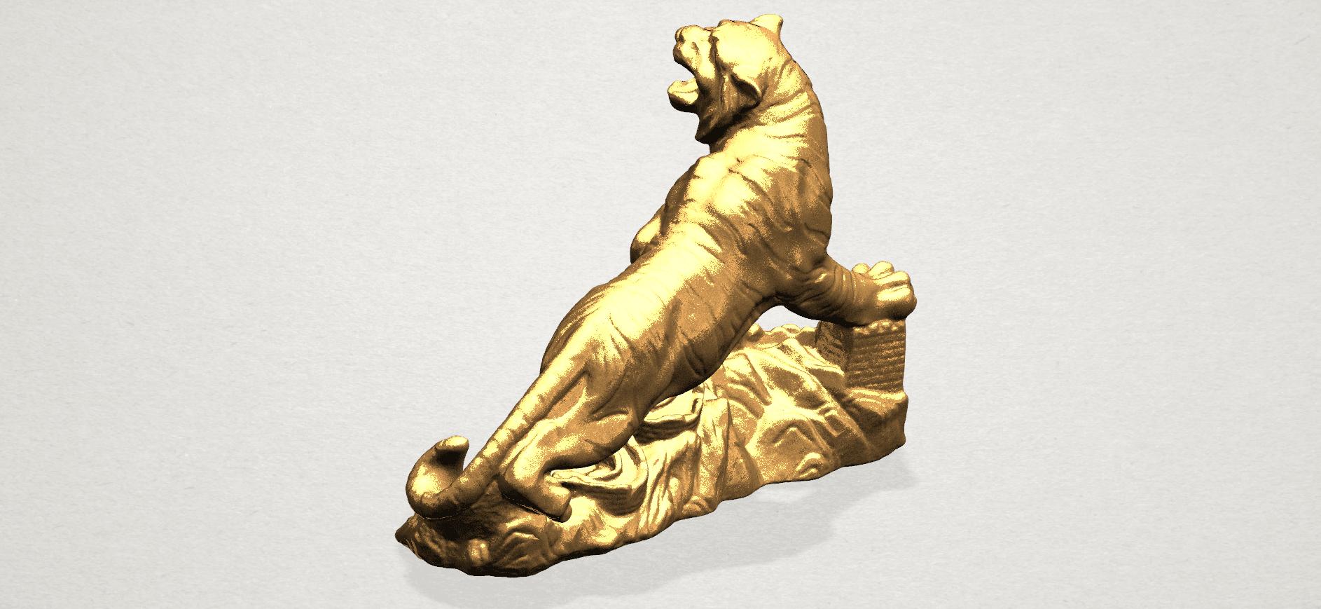 Siberian Tiger - A03.png Télécharger fichier STL gratuit Tigre de Sibérie • Objet imprimable en 3D, GeorgesNikkei