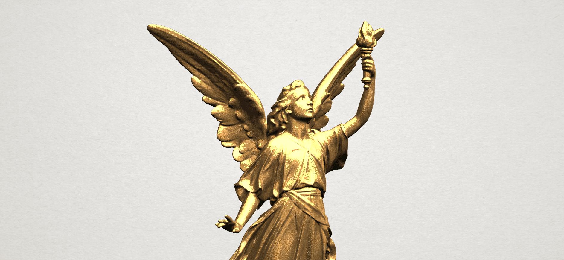 Statue 01 - A08.png Télécharger fichier STL gratuit Statue 01 • Design à imprimer en 3D, GeorgesNikkei