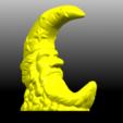 02.png Télécharger fichier STL gratuit Lune • Design pour impression 3D, GeorgesNikkei