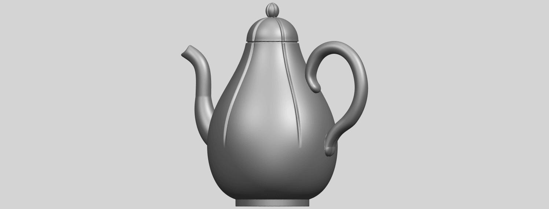 19_TDA0323_Tea_Pot_iiA02.png Download free STL file Tea Pot 02 • 3D printer template, GeorgesNikkei