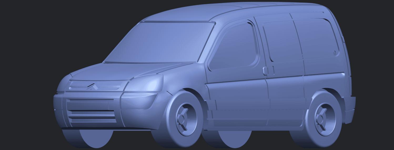 TDB002_1-50A10.png Download free STL file Citroen Berlingo Belgium Post • Design to 3D print, GeorgesNikkei