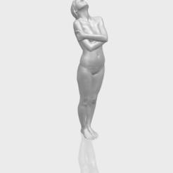Free STL files Naked Girl J08, GeorgesNikkei