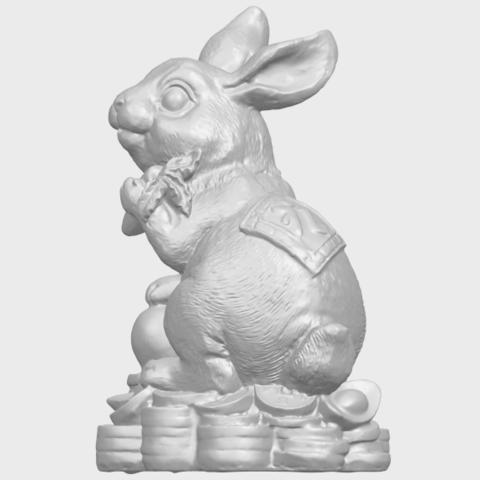 07_TDA0559_Rabbit_02A03.png Télécharger fichier STL gratuit Lapin 02 • Design imprimable en 3D, GeorgesNikkei