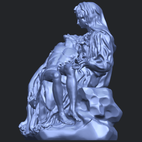 05_TDA0238_La_PietaB03.png Télécharger fichier STL gratuit La Pieta • Modèle pour impression 3D, GeorgesNikkei