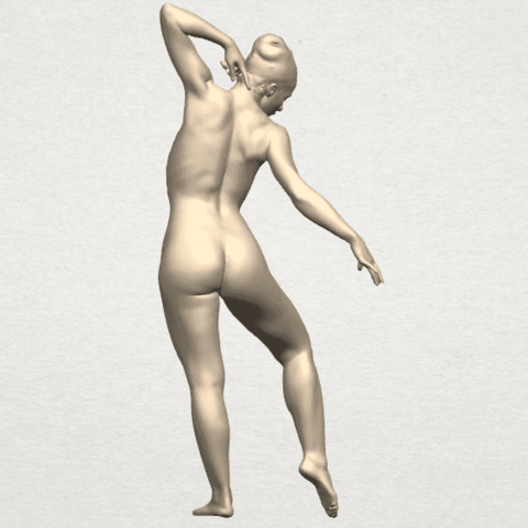 TDA0278 Naked Girl A05 04.png Download free STL file Naked Girl A05 • 3D printer template, GeorgesNikkei