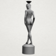 Free 3D print files Naked Girl with Vase on Top (i), GeorgesNikkei