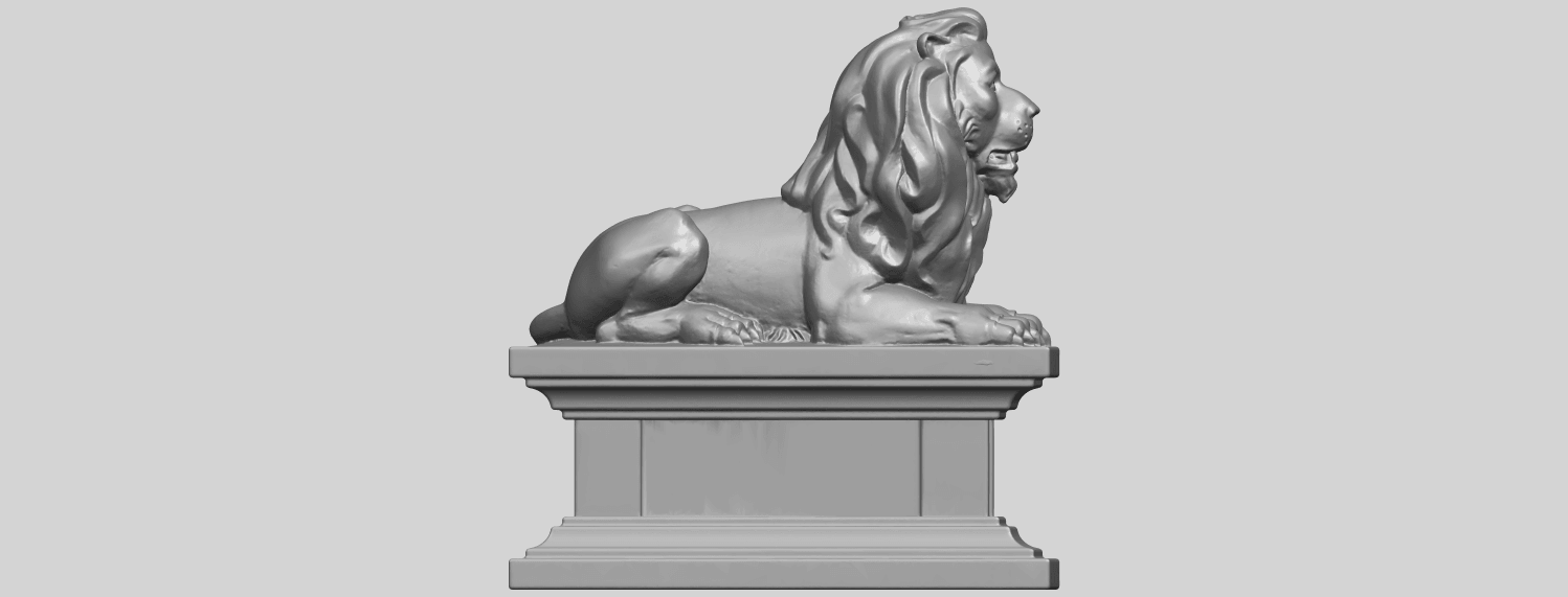01_TDA0499_Lion_04A09.png Download free STL file Lion 04 • Template to 3D print, GeorgesNikkei