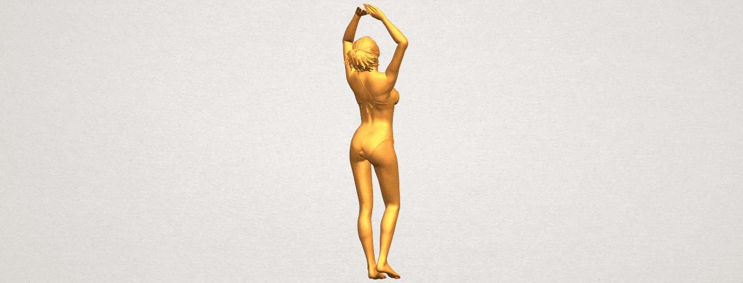 TDA0627 Naked Girl C03 A07.png Download free STL file Naked Girl C03 • 3D printer template, GeorgesNikkei