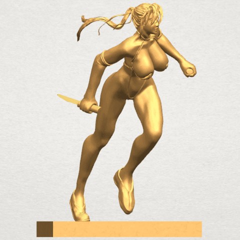 TDA0586 Sexy Girl 09 A05.png Download free STL file Sexy Girl 09 • 3D printing template, GeorgesNikkei