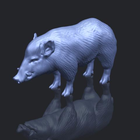 13_TDA0320_Pig_ii_B00-1.png Download free STL file Pig 02 • 3D printable object, GeorgesNikkei
