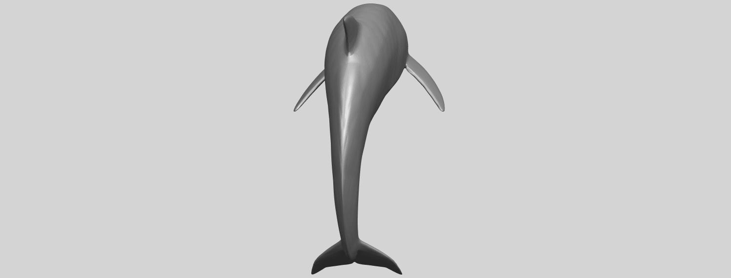 27_TDA0613_Dolphin_03A04.png Download free STL file Dolphin 03 • Design to 3D print, GeorgesNikkei
