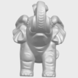 Download free STL file Elephant 05 • 3D print template, GeorgesNikkei