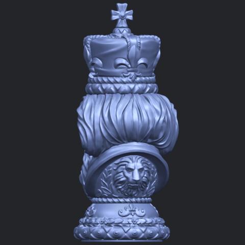 06_TDA0254_Chess-The_KingB06.png Télécharger fichier STL gratuit Chess-Le roi des échecs • Objet pour impression 3D, GeorgesNikkei