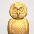 TDA0594 Owl 03 A09.png Download free STL file Owl 03 • 3D printing object, GeorgesNikkei