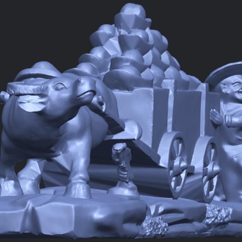 17_TDA0315_Golden_CarB09.png Download free STL file Golden Car • 3D printer template, GeorgesNikkei