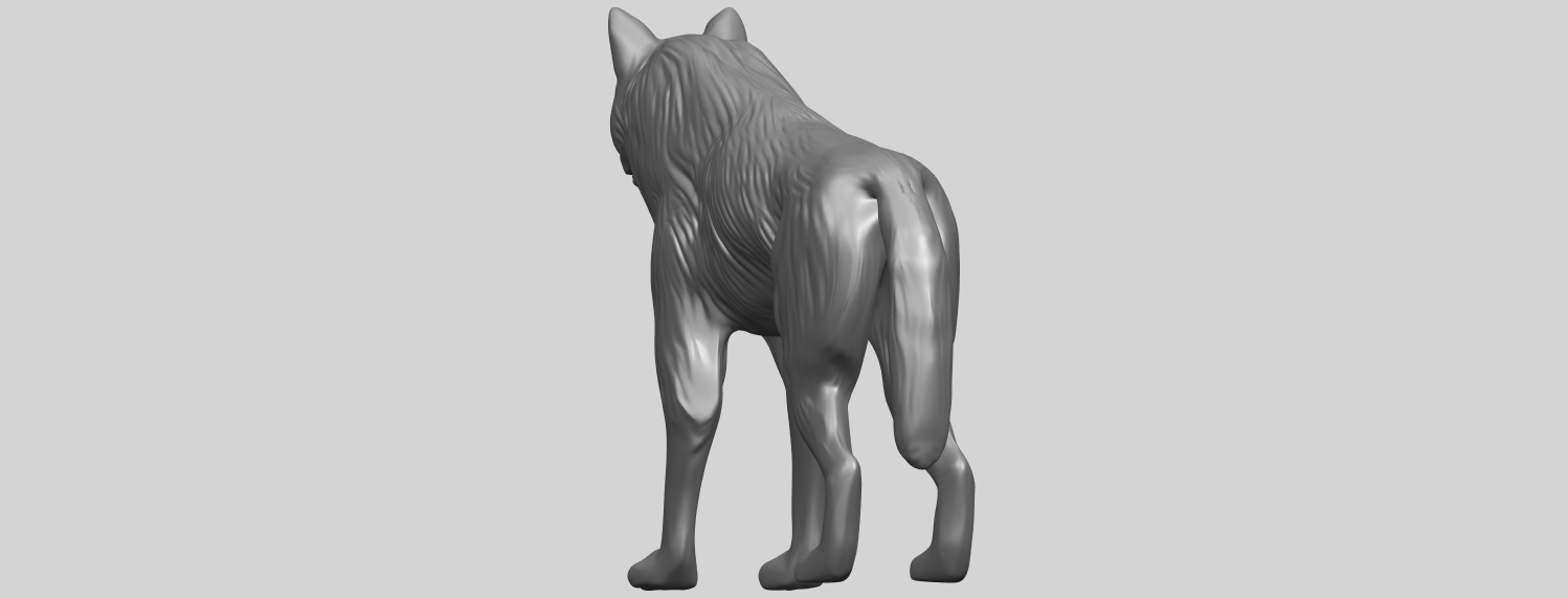 14_TDA0610_WolfA03.png Download free STL file Wolf • 3D printable design, GeorgesNikkei