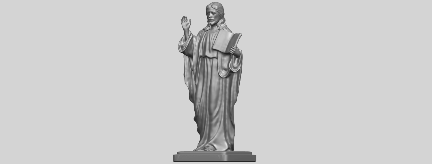 19_TDA0237_Jesus_vA02.png Download free STL file Jesus 05 • 3D print object, GeorgesNikkei