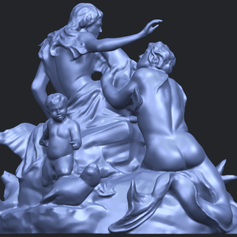 28_TDA0166_Naked_Couple_viB06.png Download free STL file  Naked Couple 06 • 3D printing object, GeorgesNikkei
