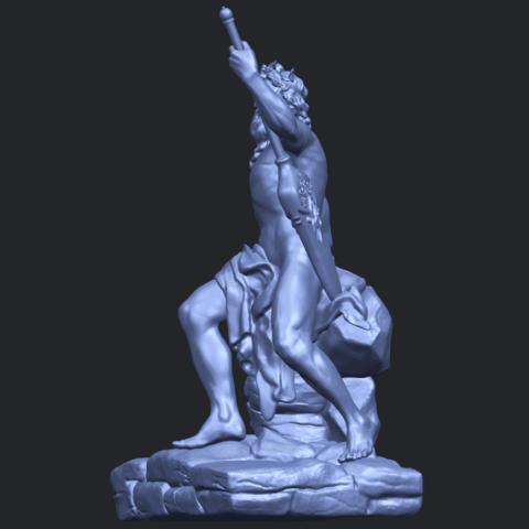 14_Naked_Warrior_88mm_(repaired)B03.png Télécharger fichier STL gratuit Guerrier nu • Plan pour impression 3D, GeorgesNikkei
