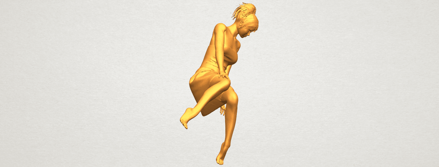 A09.png Download free STL file Naked Girl E06 • 3D printer object, GeorgesNikkei