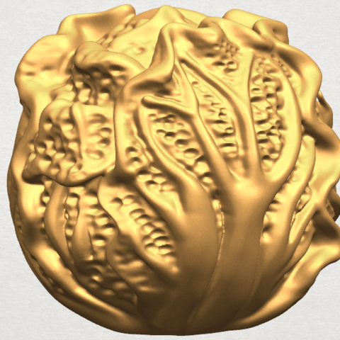 TDA0496 Cabbage A02.png Download free STL file Cabbage • 3D printer model, GeorgesNikkei