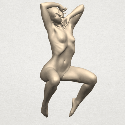 TDA0280 Naked Girl A07 06.png Download free STL file Naked Girl A07 • 3D printable template, GeorgesNikkei