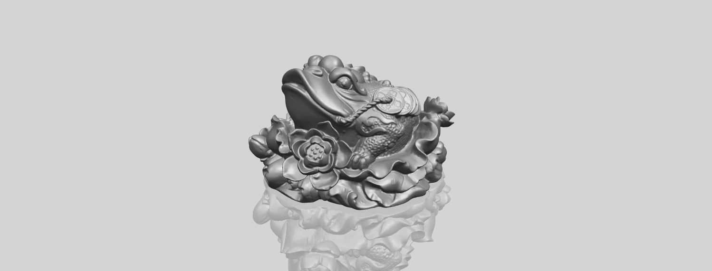 21_TDA0336_The_Golden_ToadA00-1.png Download free STL file The Golden Toad • 3D printer design, GeorgesNikkei