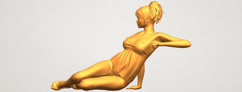 A03.png Télécharger fichier STL gratuit Fille Nue F06 • Modèle pour impression 3D, GeorgesNikkei