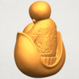 A05.png Download free STL file Little Monk 03 • 3D print template, GeorgesNikkei