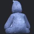 09_TDA0606_ChimpanzeeB06.png Télécharger fichier STL gratuit Chimpanzé • Design imprimable en 3D, GeorgesNikkei