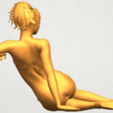 A07.png Download free STL file Naked Girl F02 • 3D printable template, GeorgesNikkei