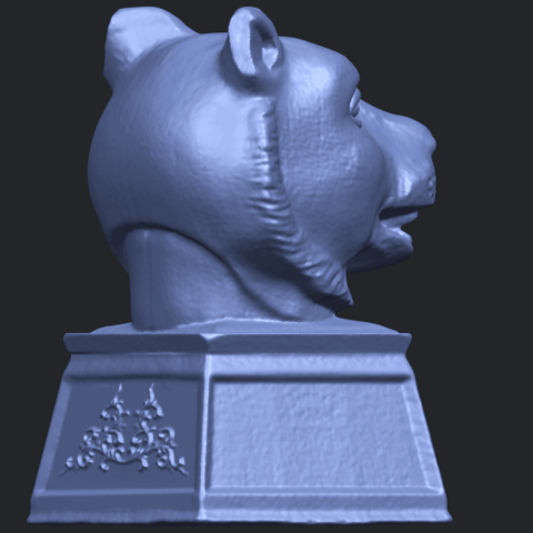 15_TDA0510_Chinese_Horoscope_of_Tiger_02B08.png Download free STL file Chinese Horoscope of Tiger 02 • 3D print object, GeorgesNikkei