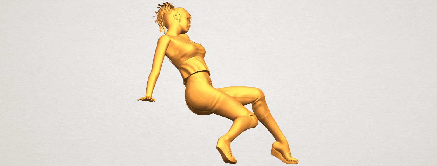 A09.png Download free STL file Naked Girl G06 • 3D printable object, GeorgesNikkei