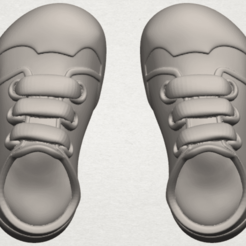 Free 3D model Shoe 01, GeorgesNikkei