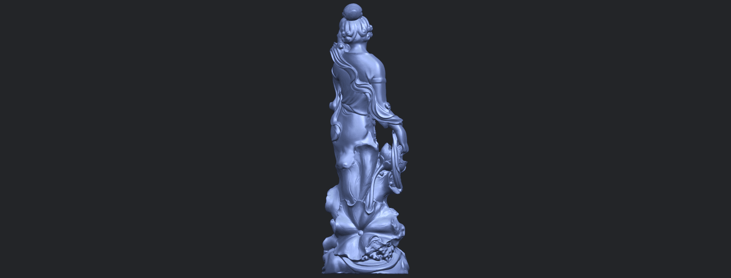 06_TDA0449_Fairy_04B07.png Download free STL file Fairy 04 • Object to 3D print, GeorgesNikkei
