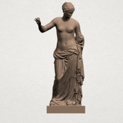 Download free 3D printing templates Naked Girl 14, GeorgesNikkei